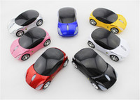 1200 2.4Ghz Wireless 3D 7 colours wireless 2.4GHZ sport car mouse mice with LED light 10pcs lot free shipping#MCAR01