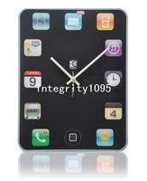 Wholesale DIY Modern Time Interior Decor Room Wall ipad Clock tablet pc clocks wall clock