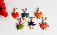 Wholesale New vintage style rabbit resin Fridge Magnets Refrigerator sticker fridge resin magnet