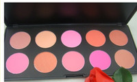 Wholesale Fashion Color Makeup Cosmetic Blush Blusher Powder Palette