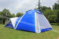 Wholesale 2013 new style high quality persons Waterproof Double layer outdoors tent durable family camping tent