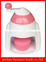Wholesale Mini Ice Crusher Block Shaving Machine Household Shaved Ice Cream Pro Manual Operation Ice Machine