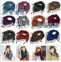 Wholesale Cheap Houndstooth Scarf high quality Men and women with the use Shawl scarf color