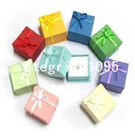 Wholesale cm multicolour rose butterfly decoration Paper Ring Gift Display Boxes for Jewelry Packaging