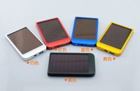 Wholesale 2600MAH Solar Battery Panel Charger portable power bank power mobile for Cell Mobile Phone MP3 P334