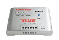 Wholesale free shippping solar controller charge mppt WS MPPT60 A V Solar energy controller