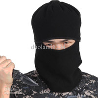 Wholesale Military Style Biservice Outdoor Warm Mask Face amp Neck Beanie Hat Cap Scarf with Eye Hole