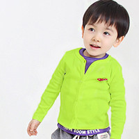 other other Spring / Autumn Free shipping!New Children Sweaters baby Cardigan Korean version of the boys and girls sweater cardigan Candy children's clothing wholesale