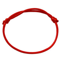 Wholesale Classic Jewish Traditional Handmade Kabbalah Red String Adjustable Bracelet Lucky charm Jewelry Israeli Gifts for sucess