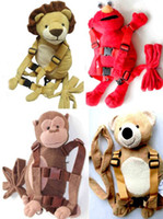 Safety Harness Backpack child harness - Baby Kids Infant Toddler Child Boy Girl Safety Security Harness Cartoon Animal Backpack Strap Rein Belt Leash Bag Sling