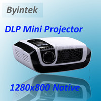 Wholesale Full HD x800 DLP Micro Portable LED Mini Projector HDMI VGA USB TV Digital Zoom