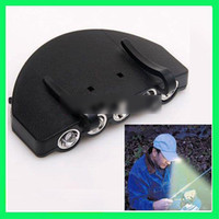 Wholesale 5 LED Cap Hat Hands Free Hunting Fishing Light