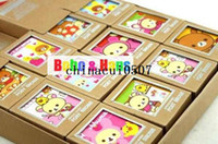 Wholesale New cute Rilakkuma style greeting card gift card