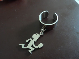 Top selling Men's jewelry stainless steel W  hatchetman charms Ring Can adjusted