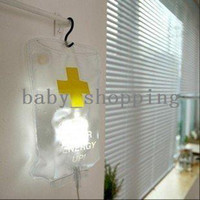 Yes cool led gadgets - Pieces New Cool Gadgets Plastic Lnfusion Water Bag Led Night Light Drip