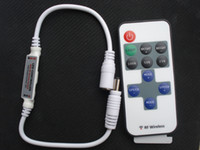 Wholesale DC V w Single Color LED Controller Mini RF Wireless Strip Switch led lamp bulb light