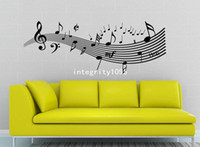 animal viruses - 115 cm music virus wall wall decor Vinyl wall stickers home decor Wall Art Decals