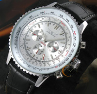 Wholesale Luxury Automatic Mechanical Mens Swiss Watch Chronograph Multi Function Calendar