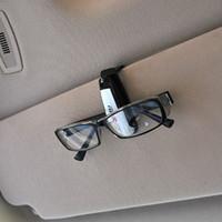 Wholesale Clip car with glasses car notes folder