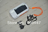 solar flashlight radio phone charger - SVC153 New Solar Radio With LED Flashlight and Charger Function Solar Radio Power Charger For Cell Phone Camera PDA MP3 MP4