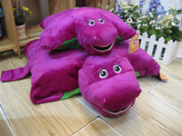 barney pillow - EMS New Barney Child s Best Friend Cushion Pillow Plush Doll