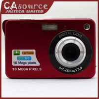 Wholesale Portable Digital Camera MP Anti shake X Zoom Mini Photo Camera Digital Drop Shipping Good quality Gift Carrying Case