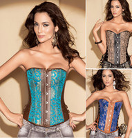 Wholesale Cheat Corset Bustier Embroidery Underwear Hot Shapers For Women Sexy Costumes Twin Set