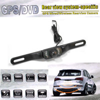 Best Bele Car Rear Mirror Back GPS DVR Rear view system Wire wireless rearview camera hsj02a