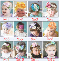 Headbands Blending 1-50piece/lot Baby Girl Headbands 60 kinds of style free mixed wholesale headband Children's Hair Accessories Fashion Baby Hair band BB019