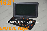 Home portable digital tv - SVC160 Digital Multimedia Electronics Portable Mini Home DVD EVD VCD Disc Player Game Player with Cable TV