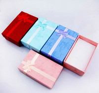 Wholesale Assorted Colors Jewelry Sets Display Box Necklace Earrings Ring Box Packaging Gift Box New arrive