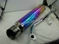 scooter performance exhaust - Scooter Performance Exhaust Muffler for GY6 cc CC QMJ152 stroke Electroplating In surface
