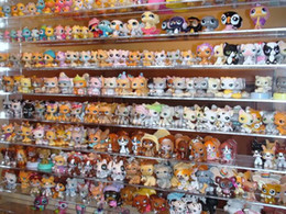 Wholesale Littlest Pet Shop LPS Animasl Loose Figures Collection toy sets