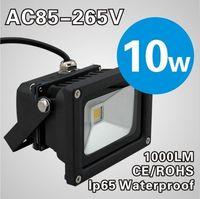 Wholesale 10pcs W AC85 V Landscape Lighting Outdoor lamp waterproof LED Flood Light Floodlight LED street Lamp