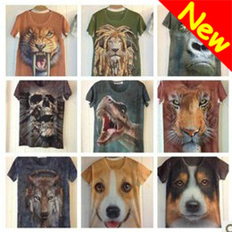 Wholesale 2013 New Novelty Cotton D Men s T shirts O neck D Printed Hot Sale