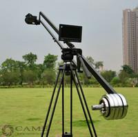 8ft Fluide pan tête de la Caméra Grue Jib Bras de Potence de levage pour Video Studio de photographie REFLEX numérique