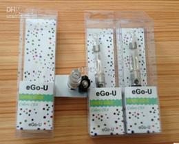 Wholesale Ego U E Cigarette Blister Kits with CE4 Clearomizer mah mah Battery E Cigarette