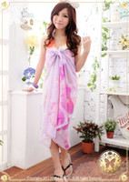 Wholesale Colorful summer beach scarf sarong bikini cover fashion swimwear cover