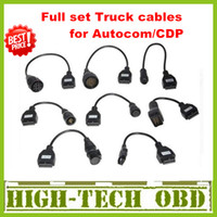 Wholesale 2013 Newly Version Cdp pro truck cables CDP plus full set truck cables obd05