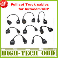 Wholesale 2013 Newly Version Cdp pro truck cables CDP plus full set truck cables obd06