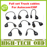 Car Diagnostic Cables and Connectors autocom - 2013 Newly Version Cdp pro truck cables CDP plus full set truck cables obd08