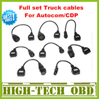 Wholesale 2013 Newly Version Cdp pro truck cables CDP plus full set truck cables obd09
