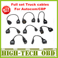 Wholesale 2013 Newly Version Cdp pro truck cables CDP plus full set truck cables obd010
