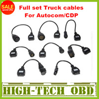 Wholesale 2013 Newly Version Cdp pro truck cables CDP plus full set truck cables obd012