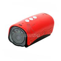 Wholesale Upgrade HD RD32 II P Night Vision Led IR Laser Light Waterproof Action Camera Underwater M Sport Bike Helmet DV DVR