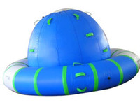 Wholesale Custom advertising inflatable water UFO water climbing UFO water park outdoor games