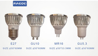 Wholesale 4W Aluminum Molding Lights E27 MR16 GU10 GU5 AC85 V LM LM Led Bulbs Warm White h Lifespan