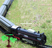 Wholesale Lionel Polar Express Train Set Harry Potter steam train with rail way cm best gift for kid original package