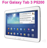 Wholesale Clear Screen Protector guard film without Retail Package For Samsung Galaxy Tab P5200