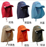 Wholesale 360 UV Riding Hat jungle hat outdoor summer tour pal sunscreen sun hat